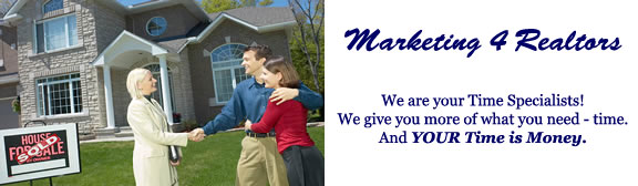 Marketing4Realtors.biz - marketing support and lead management for realtors